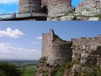 Beeston Castle - just five mins drive or a pleasant stroll along canals and footpaths.