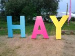 Markets and festivals happen in Hay all year round