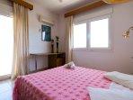 The Master Bedroom of the villa