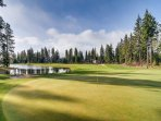 Golfing at Suncadia (2 championship golf courses)