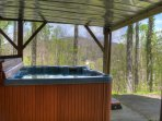 Large Hot Tub for 6-8