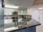 Gorgeous granite and stainless Kitchen