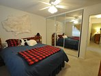 Guest bedroom, view 2, Queen. Unit 13 Lot 142 Pine Mountain Lake vacation rental Star Of The Mountain.