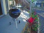 Enjoy an outdoor barbecue.