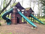 Play Park in gated grounds