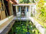 The cosy Cottage on the Lotus Pond