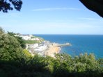 The South of France? No - it's Ventnor Bay!