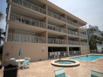 pool/spa/building