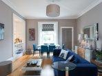 Large luxurious apartment close to Edinburgh
