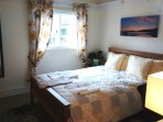 Garden room-recently refurbished double room with it's own bathroom and overlooking garden