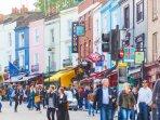 World reknowned Portobello Market 10 min  walk from home.