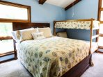 Kids want some summer fun, too. Let 'em climb up on the top bunk!