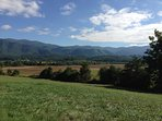 This is Cades Cove in the Great Smoky Mountains and Townsend is the closest community to it!