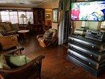 50inch smart TV for Netflix in living room.  4 total TVs