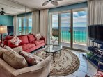 Majestic Sun 911A - Gulf View from the Living Room
