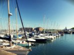 A vibrant and modern Marina is just 5 mins drive