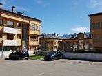 Urbanización aparcamientos exteriores