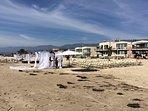 Even weddings on the beach