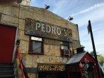 Visit Pedro's restaurant in Dumbo.