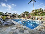 Experience the beauty of Kauai from this vacation rental studio condo situated within a desirable Princeville golf...