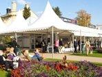 Easy for Cheltenham festivals - jazz, science, literature, music...