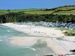 Nearby Pentewan with plenty of watersports to hire