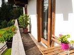 Balcony - room Bergblick and Alm