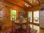Quaint dining room: