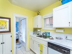 View of another part of this cheerful kitchen!