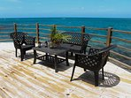 Sun deck in the day with Panoramic views