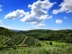 Views on the Chianti countryside