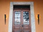 Front Doors of the Villa