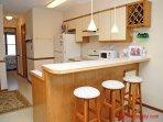 Kitchen & Bar Area