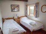 Twin bedroom 6.
