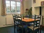 Gate Cottage dining room