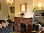 Gate Cottage Living/TV room
