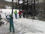 Spring skiing!