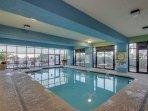 Indoor pool and Jacuzzi!