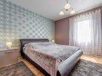 Schlafbereich  -  Schlafzimmer mit Doppelbett