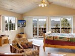 Master Bedroom with Private Deck and also Million Dollar Views