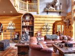 Professionally decorated with the highest quality furnishings and cabin decor