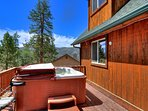 Hot Tub Deck with Privacy