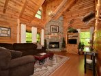 Welcome to Haley's Hideaway Homestead, an adorable cabin in the heart of the Smoky Mountains!