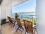 Spacious Lanai With Ocean And Marina Views