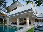 Modern private villa with private pool