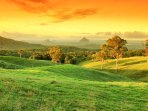 The colours of Maleny