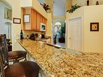 All granite work surfaces