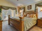The master ensuite king bedroom.