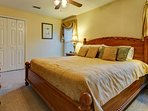 The second master bedroom.