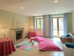 The villa is child friendly with a pool fence, cots and high chairs.